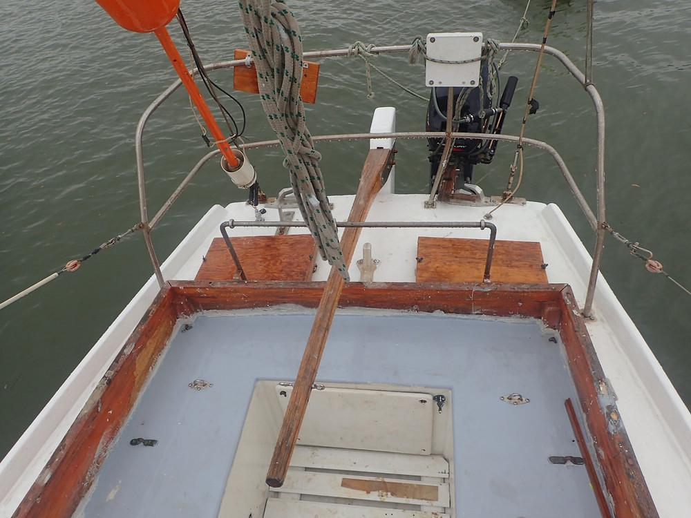 Tilla, rear hatch and deck renovations