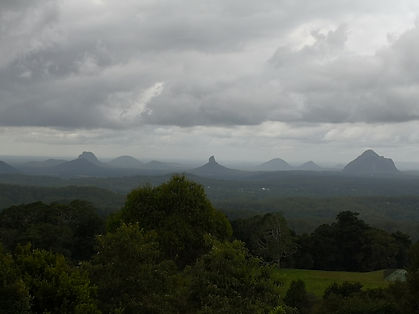 Sunshine coast hinterlands