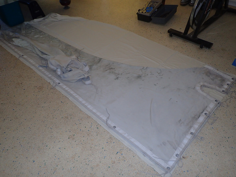 A new boom cover from a $5 bed sheet