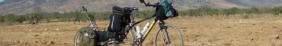 Cycle touring Australia