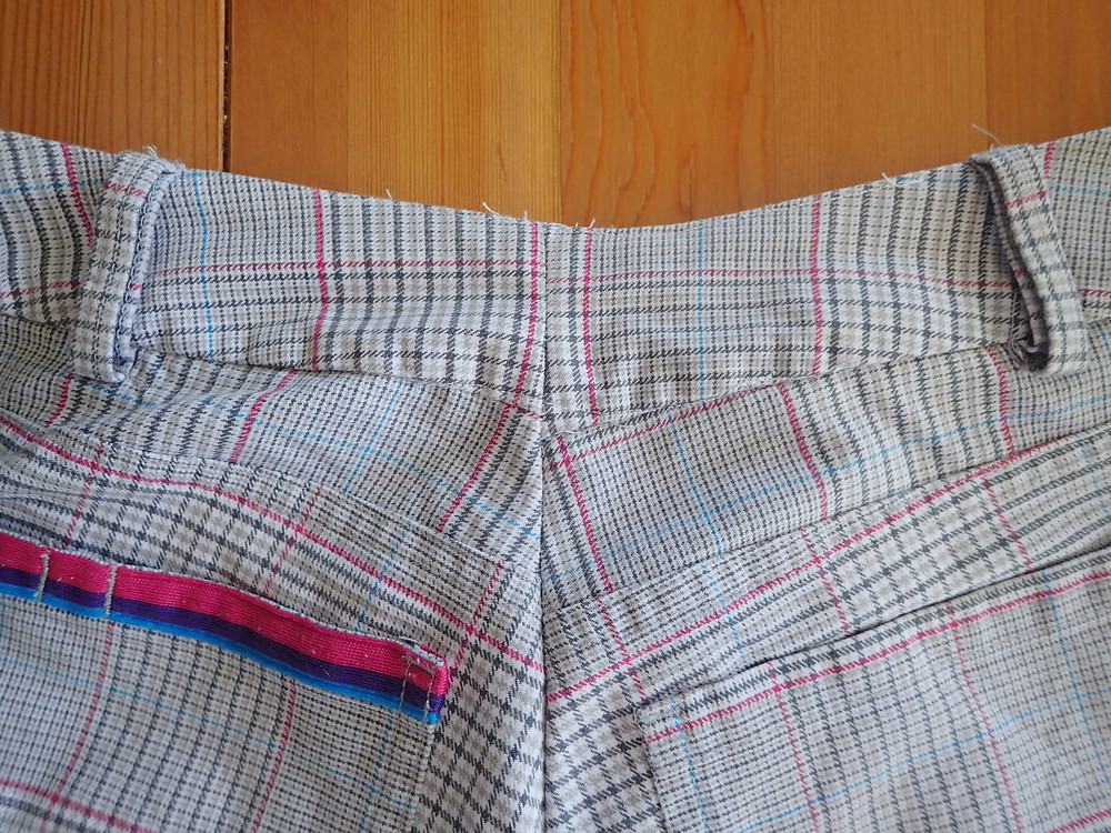 Altering the waist on my trousers from theh tip shop