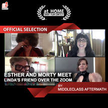 Esther and Morty Meet Linda's Friend Over The Zoom