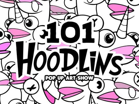 The 101 Hoodlin Pop-up Art Show