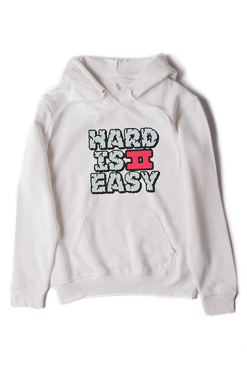 Classic White Unbreakable Hoodie