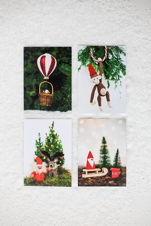 Kerst Ansichtkaartenset