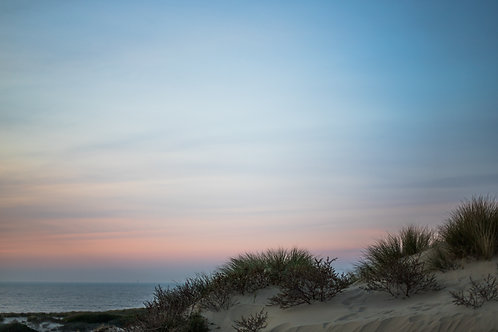 Print strand zonsondergang 3 (A3)