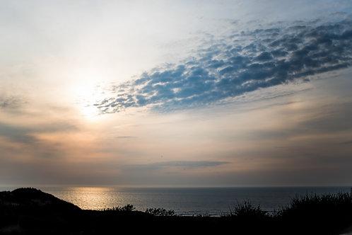 Print strand zonsondergang 1 (A3)
