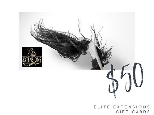 $50 Elite Gift Card