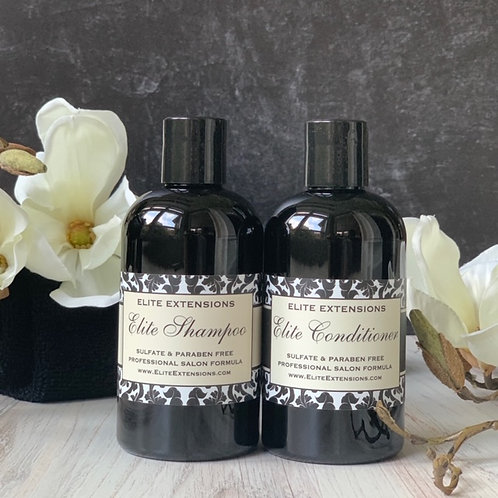 Elite Shampoo and Conditioner - 8oz Set.