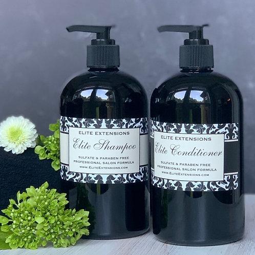 Elite Shampoo and Conditioner - 16oz Set.
