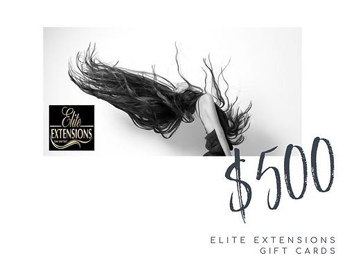 $500 Elite Gift Card