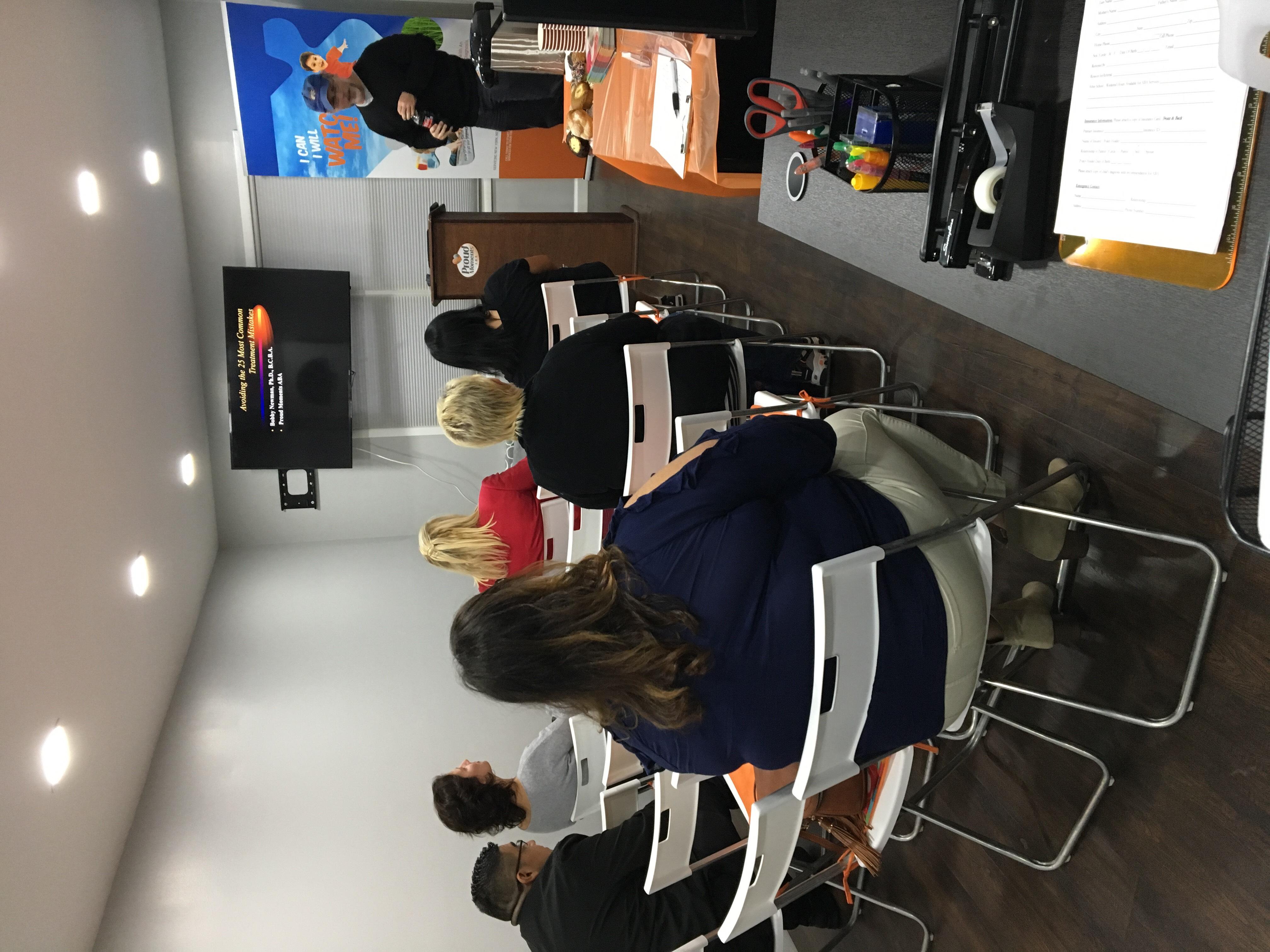 Overcoming Challenging Behaviors Parent Workshop