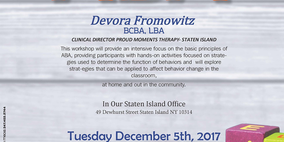 The ABC's of ABA with Devora Fromowitz
