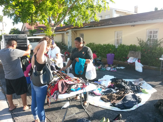 "Triple ""H""  Ministries: Community yard sale"