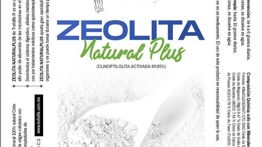ZEOLITA clinoptilolita Natural Plus