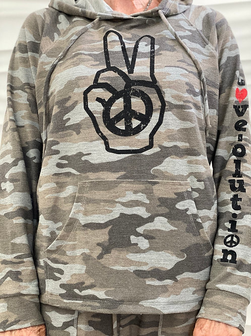 Camouflage Love-olution Hoodie