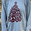 Thumbnail: Heather Grey Peace Tree Round Neck
