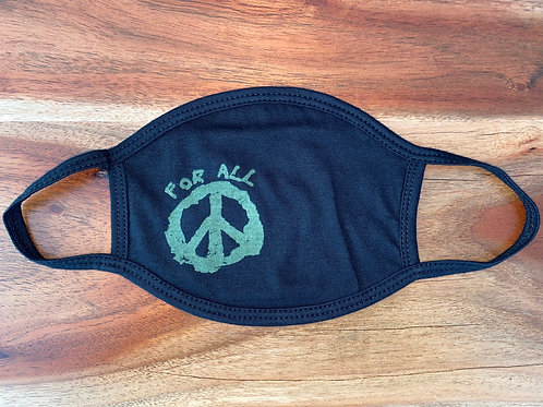 Face Mask For ALL Peace (Army Green)