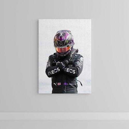 Lewis Hamilton Wakanda