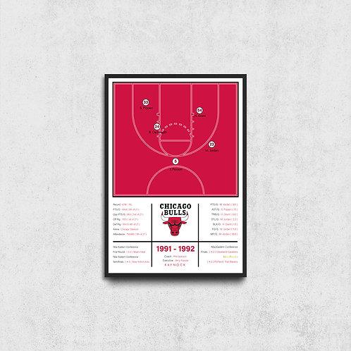 Chicago Bulls 91-92