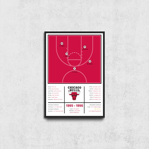 Chicago Bulls 95-96