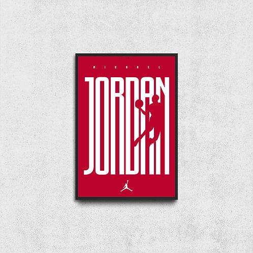Michael Jordan Silüet