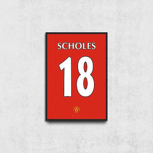 Scholes Jersey