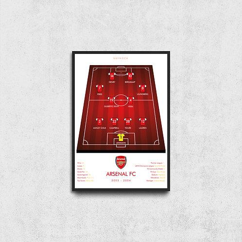 Arsenal 03/04