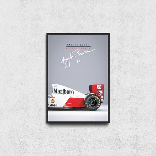 Mclaren Ayrton Senna