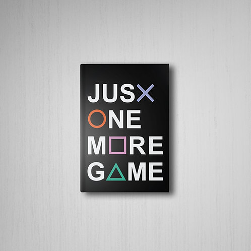 Just One More Game Defter