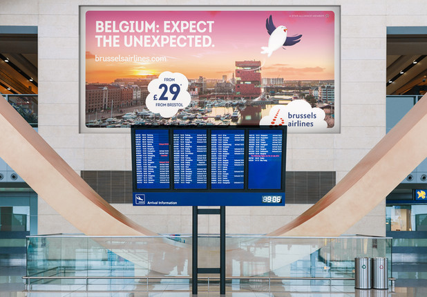 Brussels Airlines 360° campaign