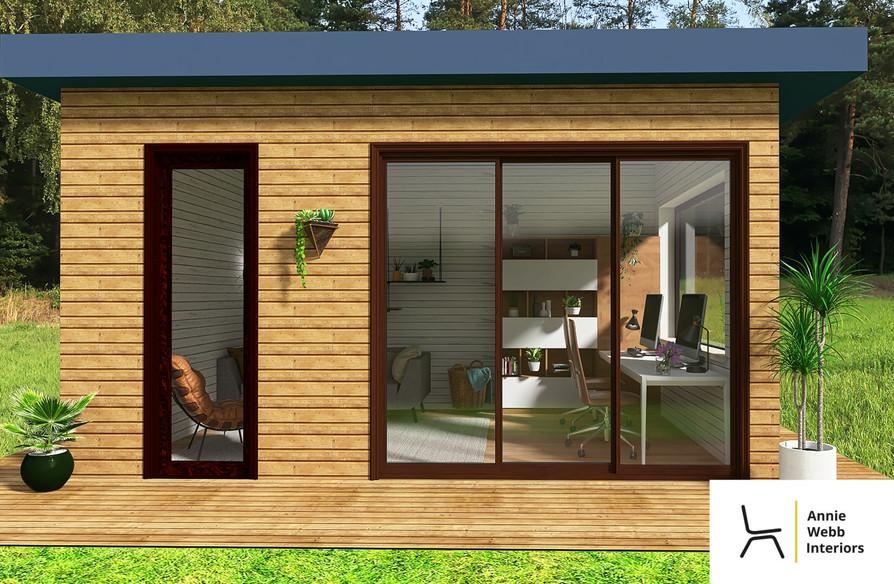 Garden Office - External