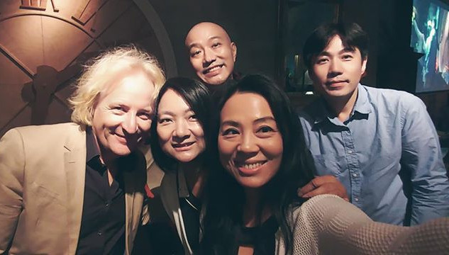 Running into our friend Shawna Yang 楊曉恩