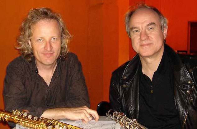 Peter Lehel with his very good friend, well known classical musician Wolfgang Meyer