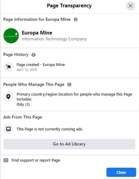 europamine fake