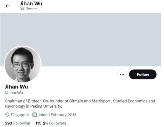 Bitdeer jihan wu