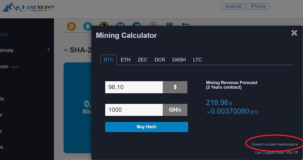 Hashshiny Calculator #2