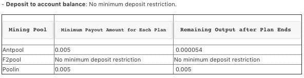 Сobo Wallet - Minimum Requirements