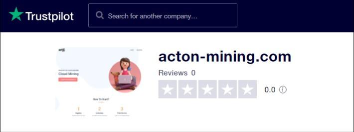 acton-mining trustpilot review