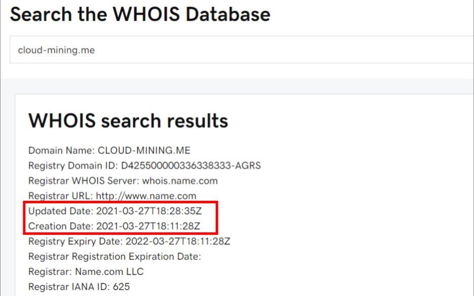 cloud mining me scam