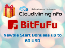 BitFuFu Promo: September 2021: Free 10 TH/s for 2 days, Plan 50% off and $20 Coupon