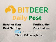 16 October, 2021 BitDeer Revenue & Contracts Profitability Analysis