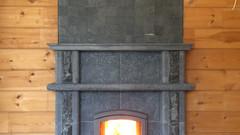 Банная печь-камин Tulikivi
