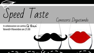 SPEED TASTE - Conoscersi Degustando