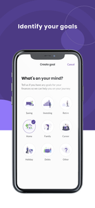 Image of Bippit App Goals Feature