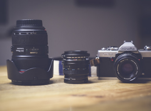 a look into my photography gear