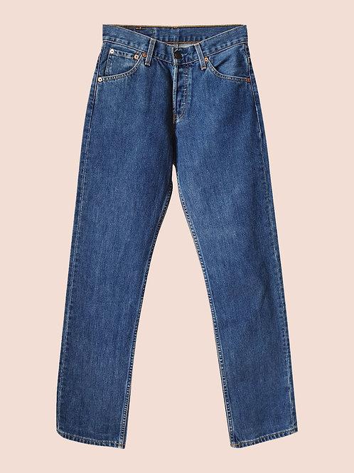 Levi's 535 blue jeans W27L32