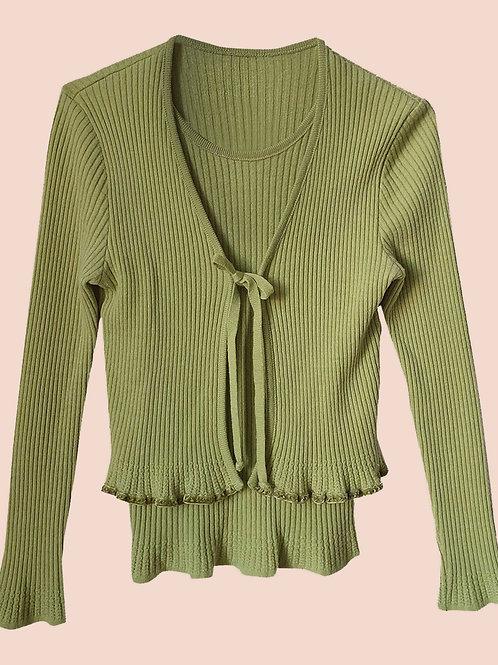 Vintage green pull