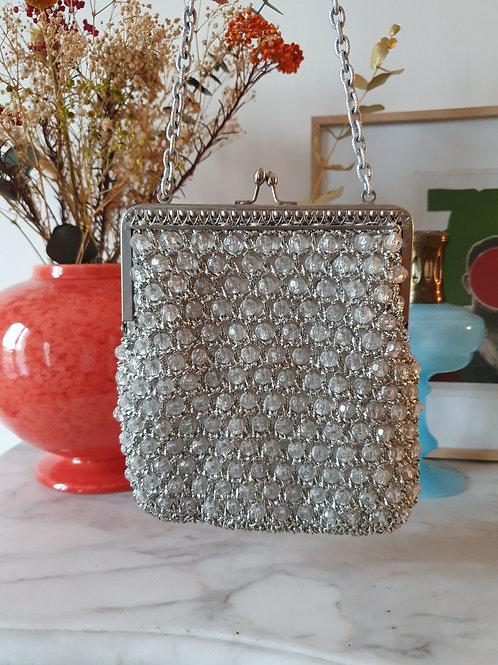 Handmade silver minaudiere