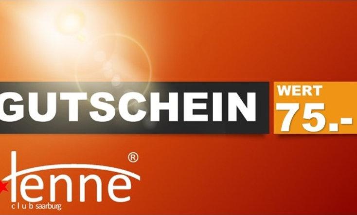 GUTSCHEIN WERT 75.- €